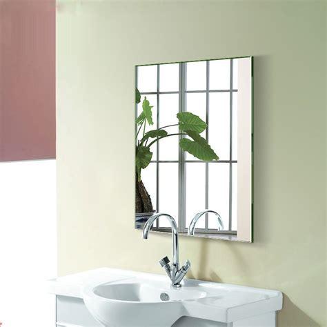 liquidation robinet cuisine miroir argenté sans cadre de salle de bain accrochage