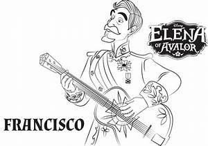 Top 10 Elena Of Avalor Coloring Pages
