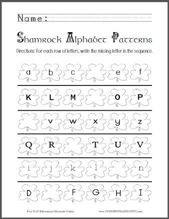 image result for printables alphabet pdf aarush pattern worksheet cursive words