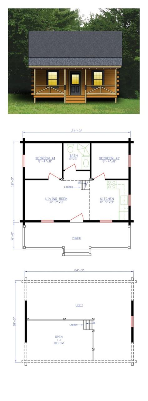 one bedroom cabin plans log house plan 74102 house plans one bedroom and cabin