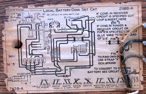Antique Phone Wiring Diagram by Antique Telephones