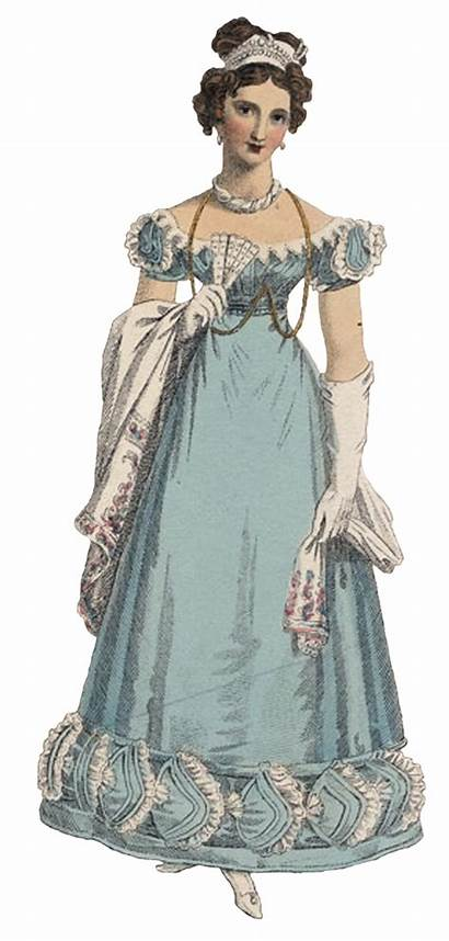Regency Clothing Lady History Colors 1800 Ewing