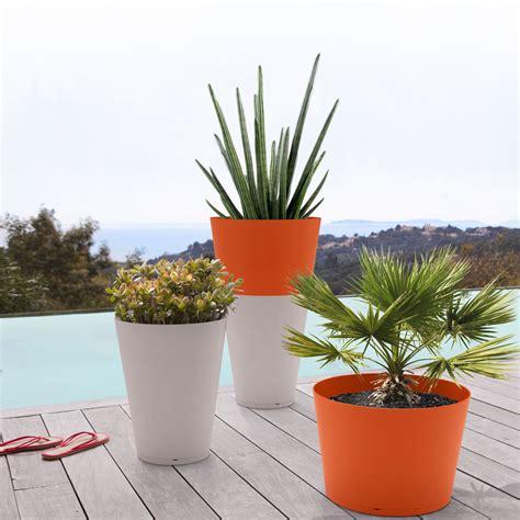 meubles cuisine leroy merlin grosfillex pot de fleurs anthracite ø 50 cm 40 l pot de fleur grosfillex sur maginea