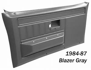 1981-1987 Gmc  U0026 Chevy Truck Front Door Panels