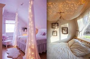 Clever, Diy, Bed, Canopy, Ideas, To, Bring, More, Whimsy, Into, Your