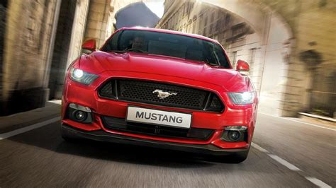 ford mustang photo front view image carwale