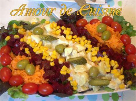 recettes dapero dinatoire  salades