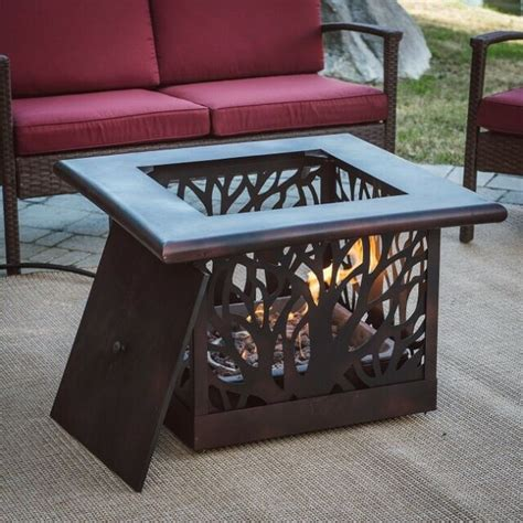 If you are interested in this symbol of french royalty, do check out our post: Fire Pit Gas Square Heater Propane Decorative Firepit w/ Tank Cover Table Bronze | eBay