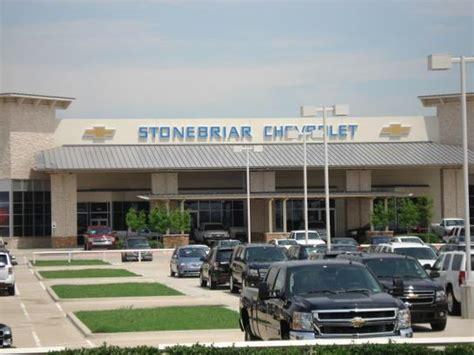 Stonebriar Chevrolet Car Dealership In Frisco, Tx 75035