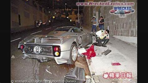 wrecked car before and after wrecked exotic cars before and after youtube