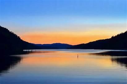 Water Scenes Peace Storm Landscape Sunset Away