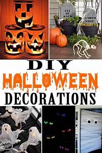 Diy, Halloween, Decorations