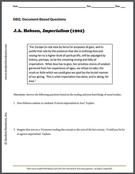 free printable history worksheets for middle school