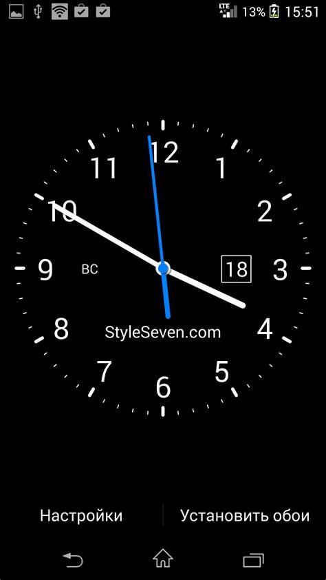 Андроид часы на выключенном экране скачать бесплатно на