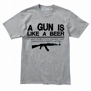 Men's Guns & Beer T-shirt – Forged From Freedom