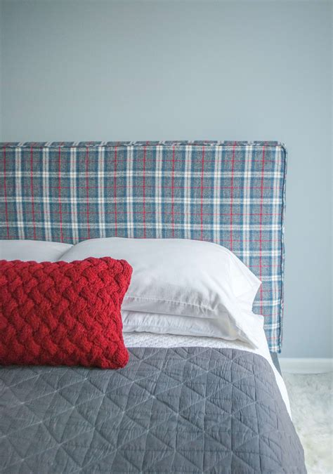 How To Make An Easy Headboard by How To Make A Headboard Slipcover With No Sew Piping