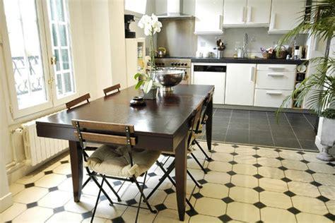 carrelage cuisine blanc et noir cuisine carrelage noir et blanc