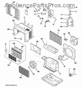 Parts For Ge Agr05lbg1  Room Air Conditioner Parts