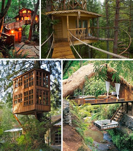 house plans for one homes treehouse taster 3 wildly different types of tree houses