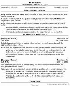 free professional resume templates microsoft word With how to create a professional resume for free