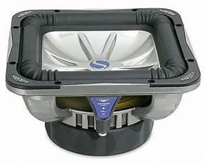 Kicker 04 S10l7 Dual 2 Ohm Solobaric L7 Square 1200 Watt 10 U0026quot  Sub Subwoofer Refurbished