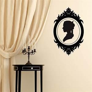 Deco Baroque Moderne : sticker cam e style baroque d coration chambre baroque ~ Teatrodelosmanantiales.com Idées de Décoration