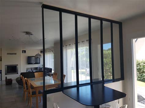 vitrage cuisine cloison vitrée d atelier