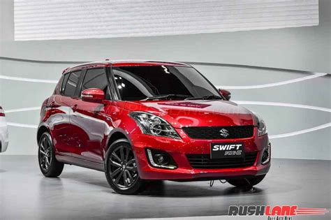 Maruti Suzuki Swift Rxii Sport Edition Displayed At 2017 Bims