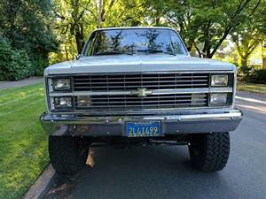 Show Truck  1 Owner Only 12 645 Orig Miles 84 Chevy Silverado K10 4x4 Short Box