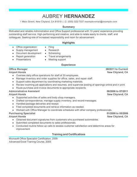 resume objective statement for restaurant management admin resume exles admin sle resumes livecareer