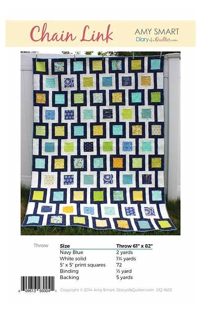 Chain Pattern Link Copy Quilt Hard Quilter