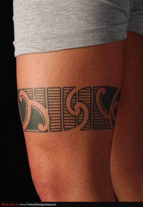 Tatouage Maori Cuisse Genou Homme Femme Tg7zq9nt