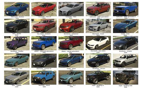 Gta Online Los Santos Customs Car Resale Prices