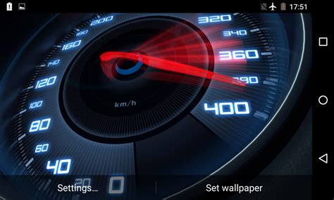 Digital Speedometer Wallpaper by Speedometer Live Wallpaper 3d Android Apps On Play