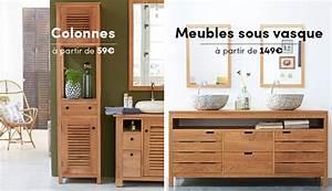 Meuble De Salle De Bain Solde : meuble salle de bain bois pas cher meubles salle de bain ~ Teatrodelosmanantiales.com Idées de Décoration