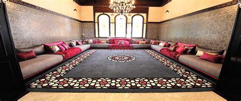 canapé sedari tapis de salon marocain