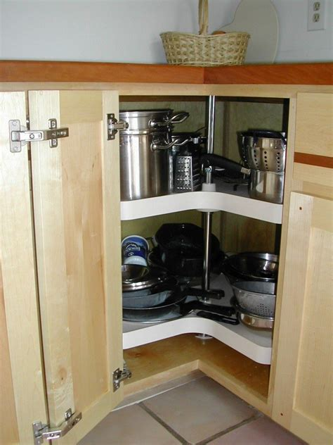 corner kitchen cabinet squeeze  spaces home design