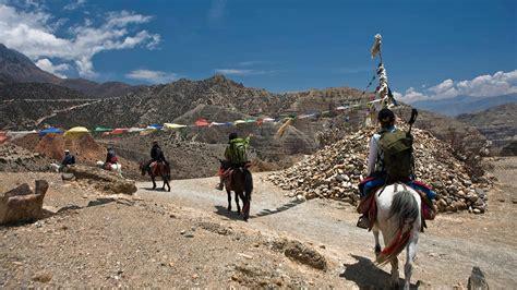 Trekking to Upper Mustang