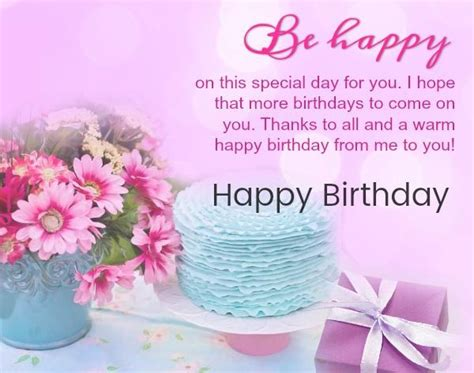 Birthdays are special days filled with happiness gifts and birthday cakes. Happy Birthday Wishes, Images, Messages & Cards - Bday Wishes