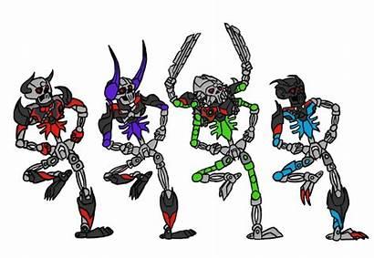 Spooky Skeletons Scary Bionicle Villains Lego Meme