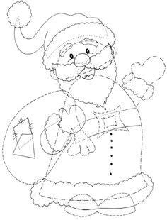 weihnachtsmann basteln vorlagen pattern use the printable outline for crafts creating stencils scrapbooking