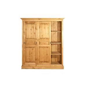 armoire 3 portes coulissantes meuble de chambre