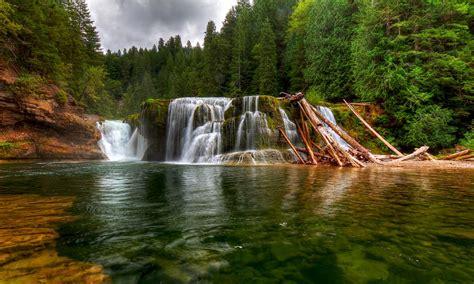 pinchot gifford forest waterfall beautiful landscape