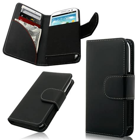 smartphone carrying exclusive wallet style flip cover w card slots for