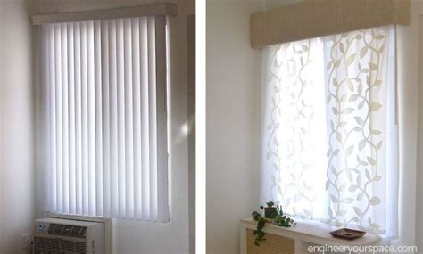 Window Treatments Vertical Blinds by How To Replace Vertical Blinds With Curtains In Minutes