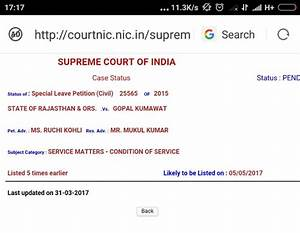 FIX PAY CASE IN SUPREME COURT:- NEW DATE FOR HEARING IS ...