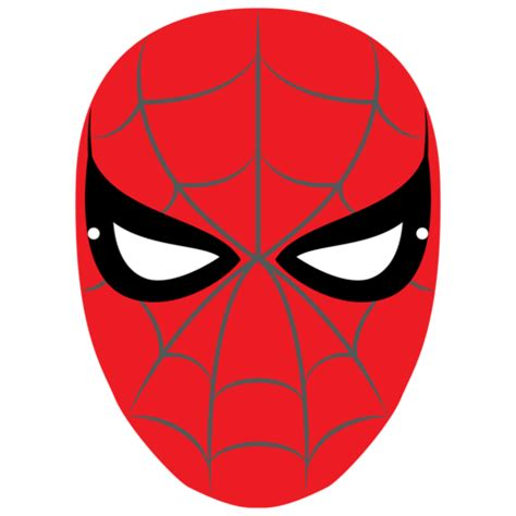 spiderman mask template  printable papercraft templates