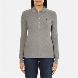 Polo Ralph Lauren Women's Julie Long Sleeve Polo Shirt ...