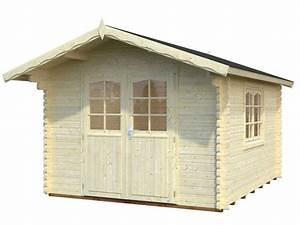 Blockbohlen 44 Mm : 44 mm gartenhaus sally 10 2 m 320 x 380 palmako ger tehaus blockhaus holz ebay ~ Orissabook.com Haus und Dekorationen