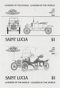Saint Lucia Leaders of the World 1914 Ford Model T $1.00 ...